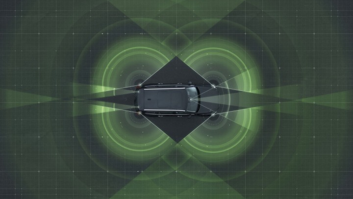 Autonomous drive technology - Surround radars